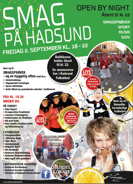 Smag på Hadsund - Annonce HF